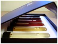 caixa de cores